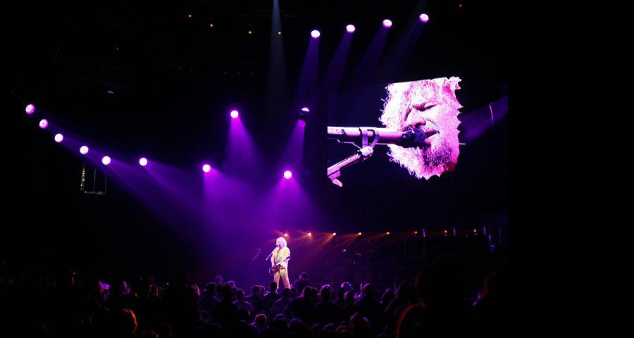Van Halen 2004 Tour Stage and LightS set